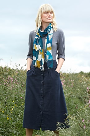 Cotton Jersey Top. In Colours Inspired By Cornwall - Seasalt