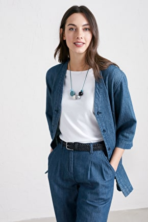 Capstone Jacket, Cotton Twill Relaxed Jacket - Seasalt Cornwall