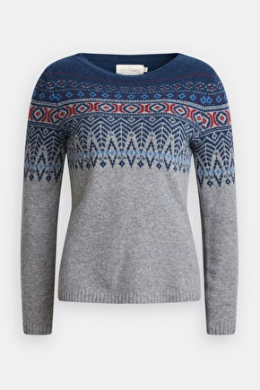 Trellis Jumper, Soft Merino Wool Fair Isle Jumper - Seasalt Cornwall