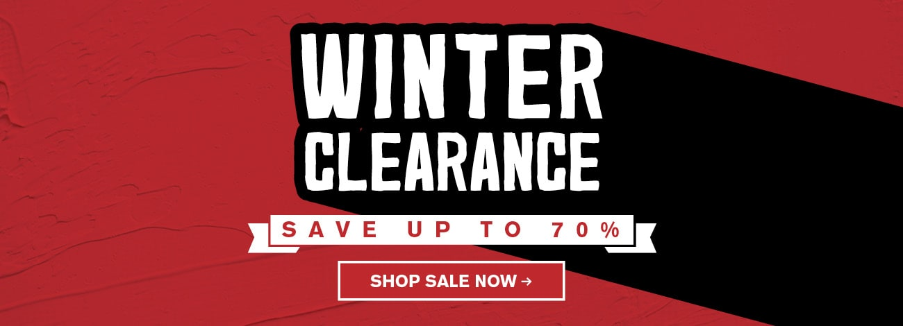 Winter Clearance 2017