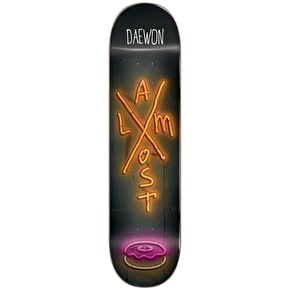 Almost X-Neon R7 Skateboard Deck - Song 7.75''
