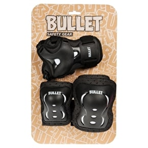 Bullet Blast Junior Triple Padset - Black/White