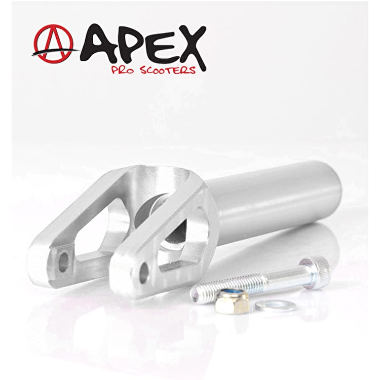 APEX Pro Quantum Scooter Fork - Silver Chrome