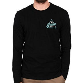 Element Ascent Longsleeve T-Shirt - Flint Black