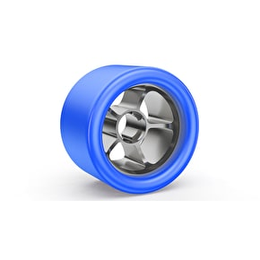 Bont Royal Assassin 92a Quad 60mm Wheels (8pk) - Blue / Silver