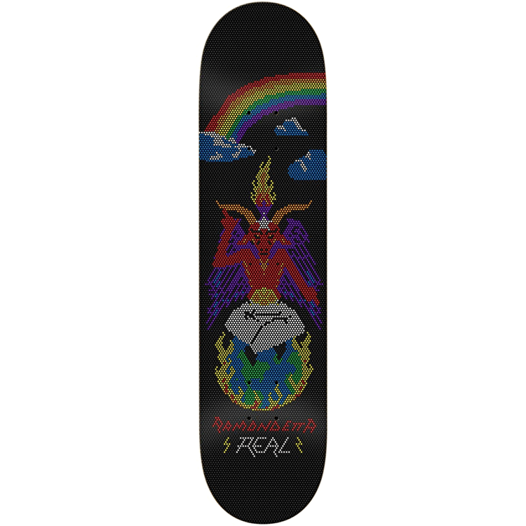 Real Skateboards Ramondetta Evil-Lite Skateboard Deck - 8.38""