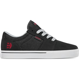 Etnies Barge LS Kids Skate Shoes - Charcoal