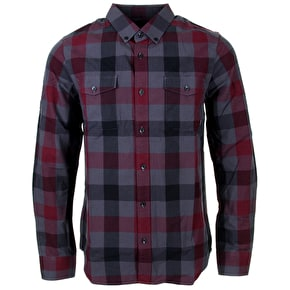Nixon Madrone Long Sleeve Shirt - Black