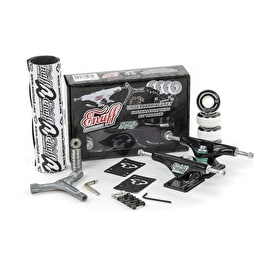Enuff Decade Pro Skateboard Undercarriage Set - Black/Black