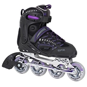 SFR RX-XT Inline Skates - Black/Purple UK4 (B-Stock)