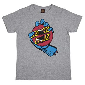 Santa Cruz Hand Dot Kids T-Shirt - Dark Heather