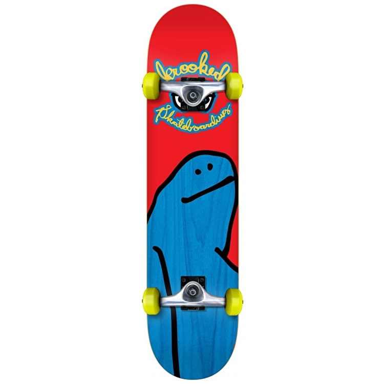 Krooked Live Fast Dye Shmoo Complete Skateboard - 7.75""