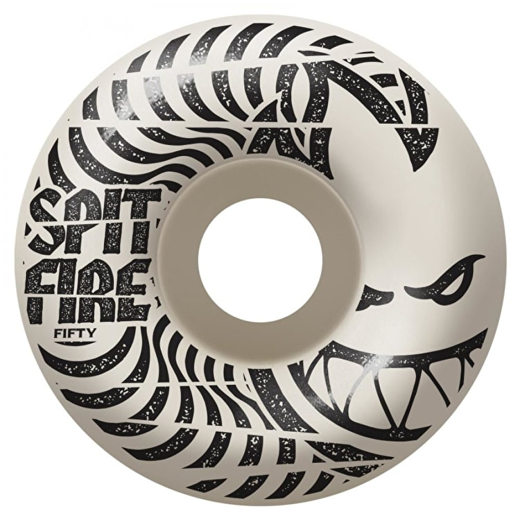 Spitfire Low Downs Skateboard Wheels - White (Pack of 4)