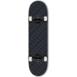 Fracture All Over Comic Complete Skateboard - Black 8