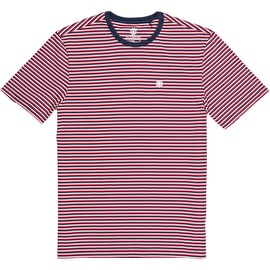 Element Striped Crew T Shirt - Eclipse Navy