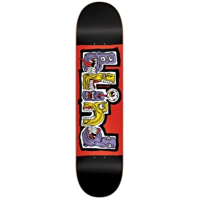Blind Hungry RHM Skateboard Deck - Black/Red 7.75