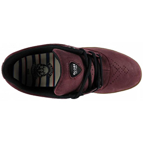 Globe The Eagle SG Skate Shoes - Burgundy/Gum
