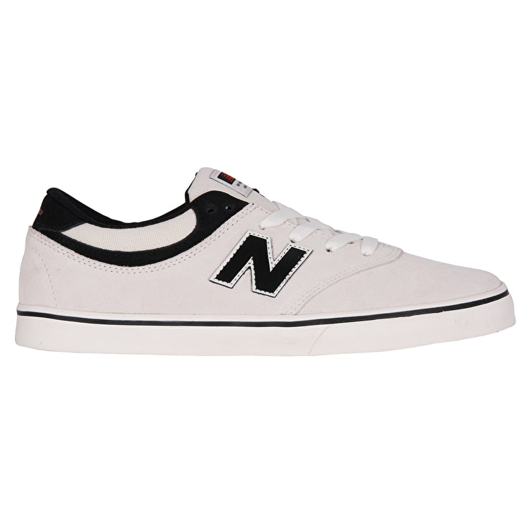 New Balance Quincy 254 Skate Shoes - Sea Salt/Black