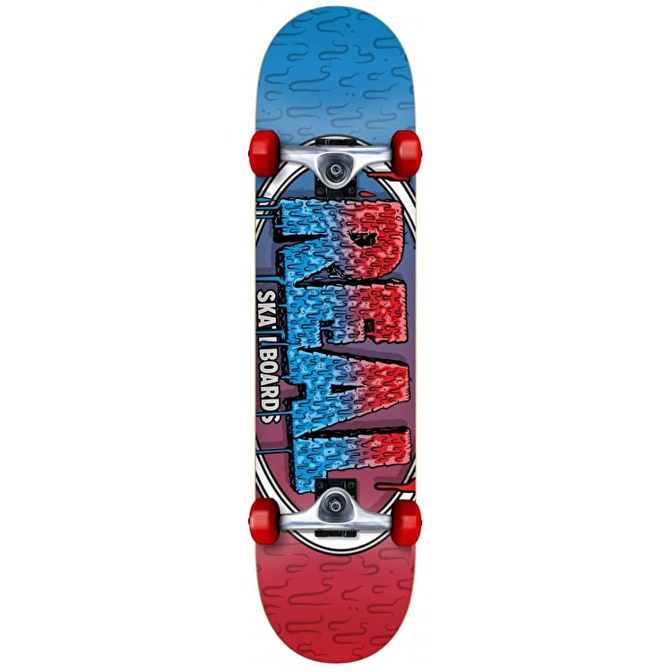 Real Slime Fades Complete Skateboard - 7.75""