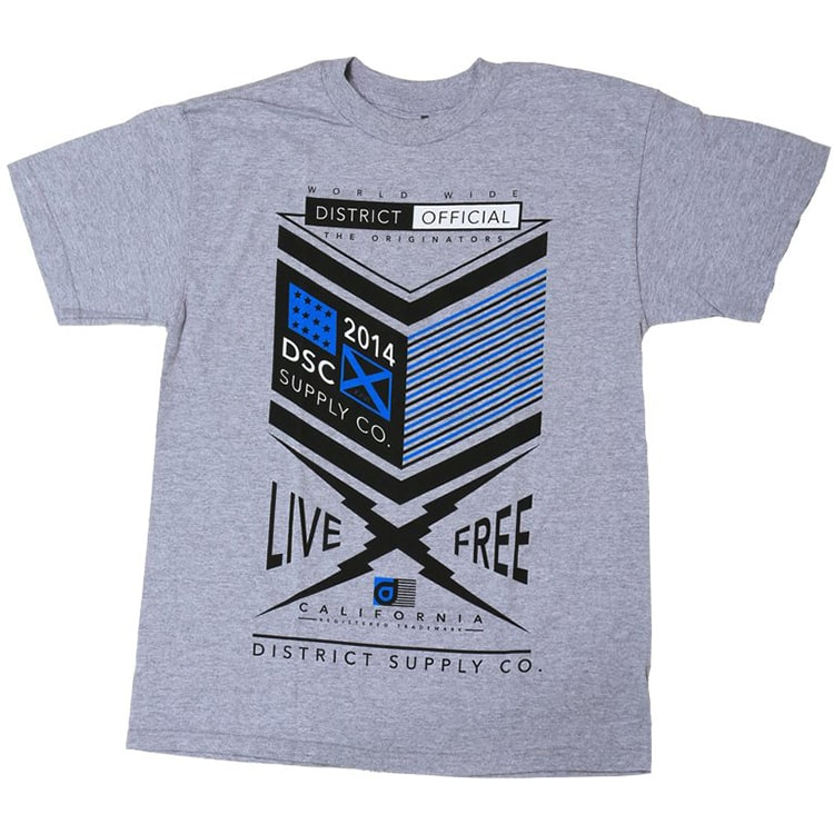 District Supply Co. Form T-Shirt - Heather