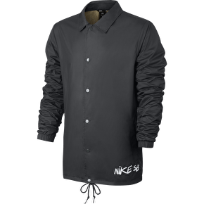 Nike SB Shield Icon Quilt Coaches Jacket - Anthracite/White