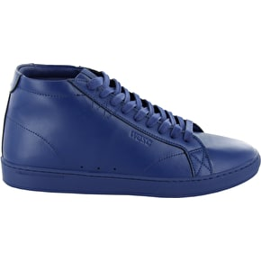 WeSC Lifestyle Clopton Mid Shoes - Blueprint Leather