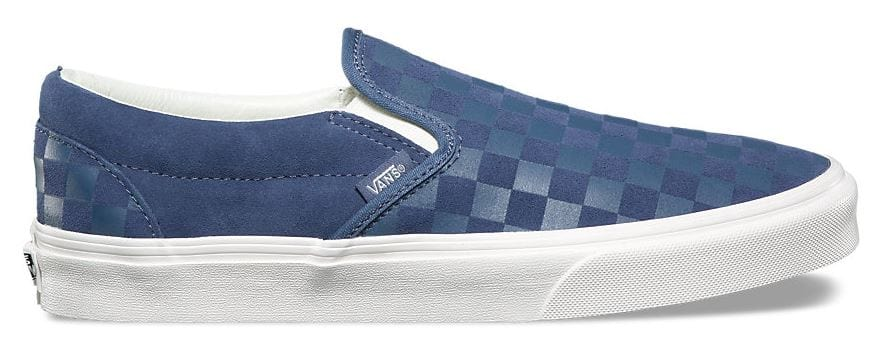 Vans Classic Slip-On (Checker Emboss) Vintage Indigo