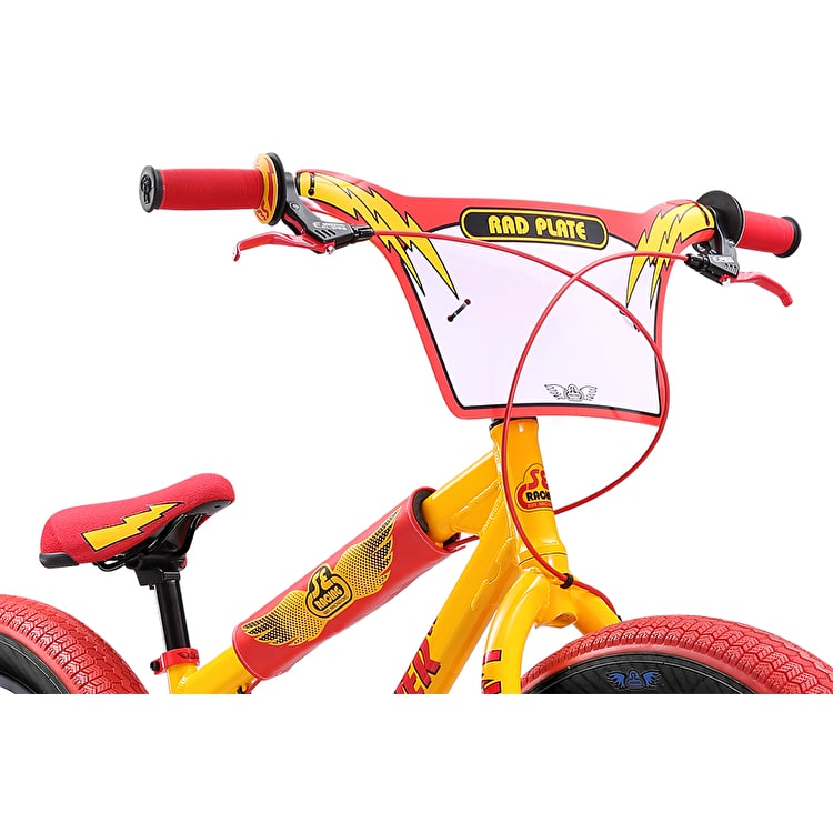 "SE Fat Ripper 26"" Complete BMX - Yellow"