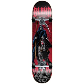Blind Dark Horse Complete Skateboard - Red/Black 7.5