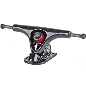 Paris Truck Co 150mm V2 Longboard Trucks - Black / Black (Pair)