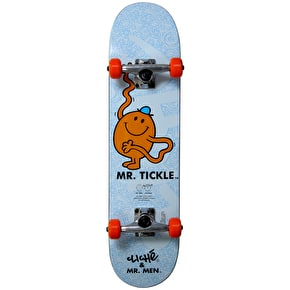 B-Stock Cliche Kids' Skateboard - Mr Tickle Blue 7'' (Cosmetic Damage)