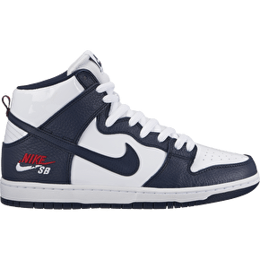 Nike SB Zoom Dunk High Pro Skate Shoes - Obsidion Blue