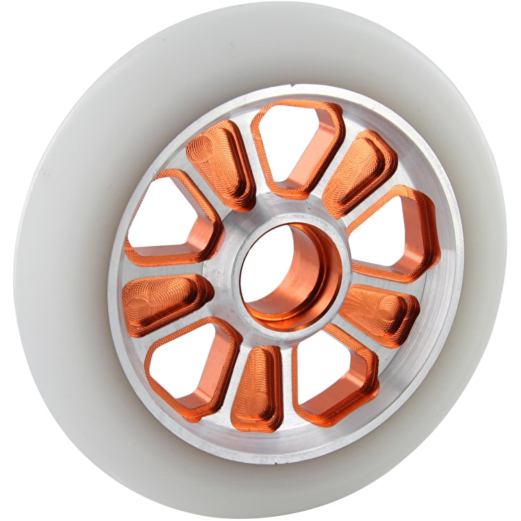 Root Industries Revolver Wheel White on Orange - 110mm