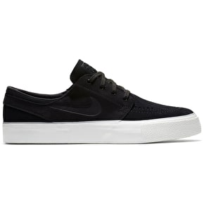 Nike SB Zoom Janoski Skate Shoes - Black/Black