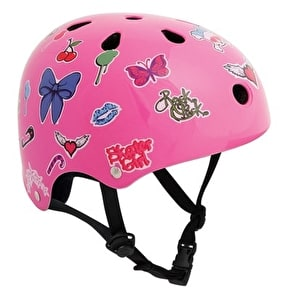SFR Essentials Sticker Skate Helmet Pink