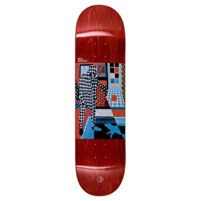 Polar Man With Dog Skateboard Deck - Nick Boserio 8.25