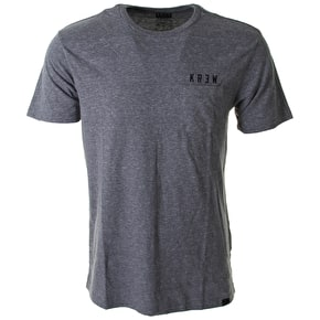 Kr3w Locker Box T-Shirt - Grey Heather