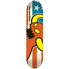 Toy Machine Vice Skateboard Deck - American Monster 8.25