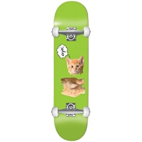 Enjoi Skateboard - Decapitated Kitten Green 7.5