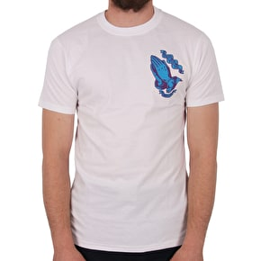 Santa Cruz Guadalupe Colour T-Shirt - White