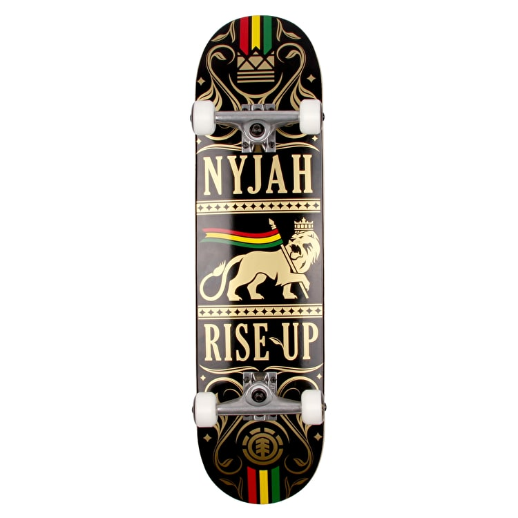 Element Nyjah Rise Up Lion Complete Skateboard - 8""