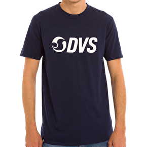DVS Action Logo T-Shirt - Navy