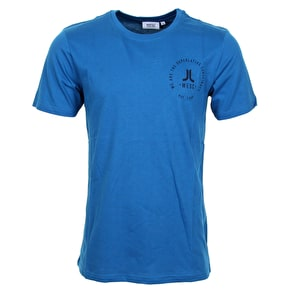 WeSC Icon Circle T-Shirt - Deep Water