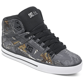 DC x Realtree Spartan High WC Shoes - Grey