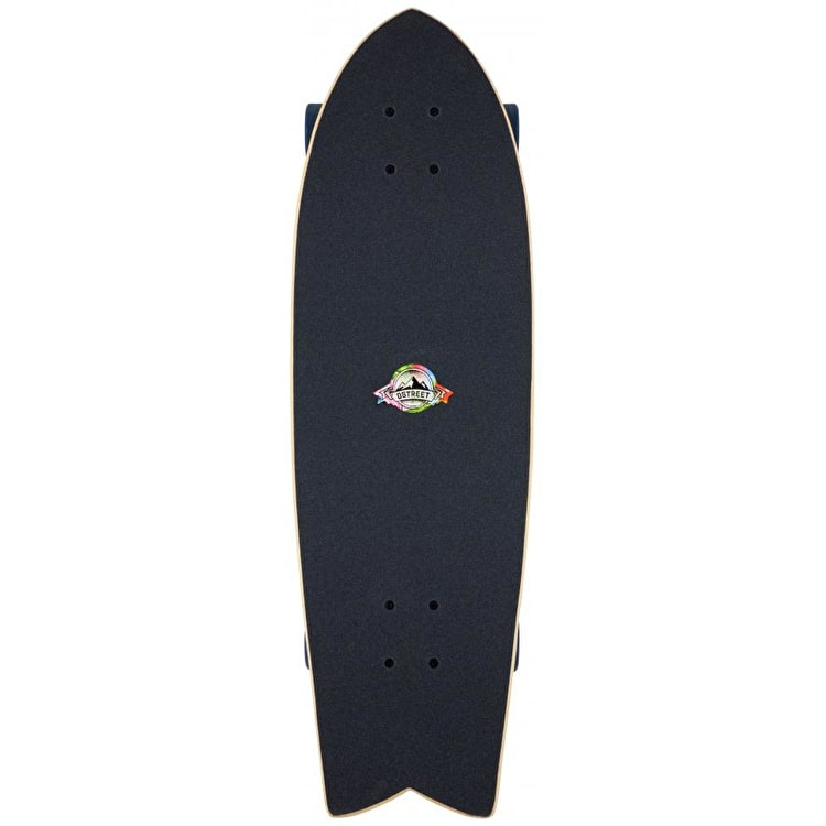 D-Street Surreal Complete Cruiser - Nautical 29""