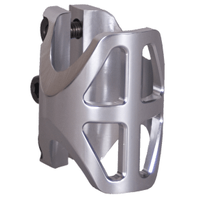 District Triple Light Standard Clamp - Silver