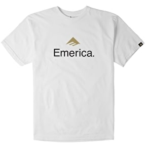Emerica Skateboard Logo T-Shirt - White