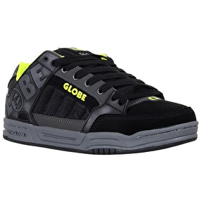 Globe Tilt Shoes - Black/Lime