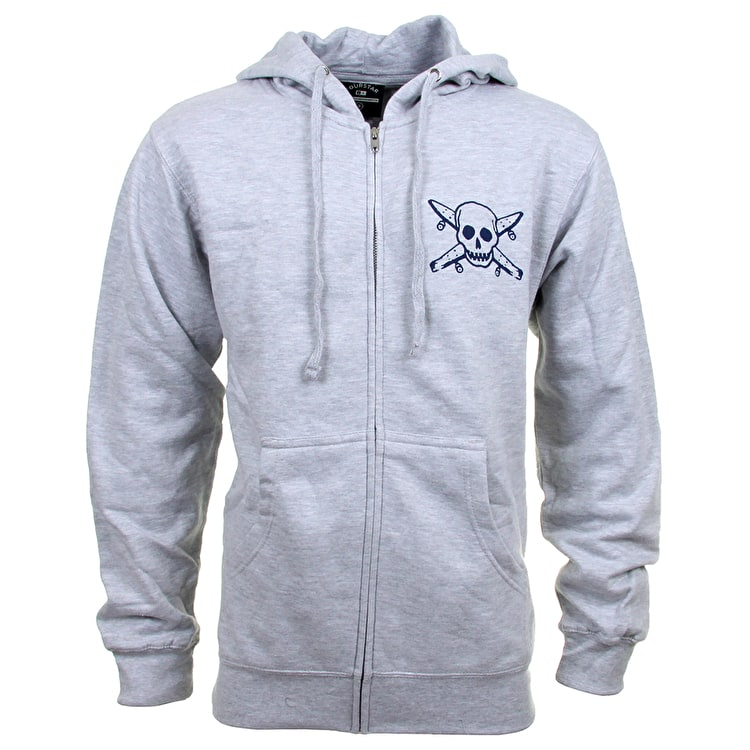 Fourstar Pirate Zip Hoodie - Charcoal