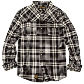 Grizzly Boulder Woven Longsleeve Shirt - Black
